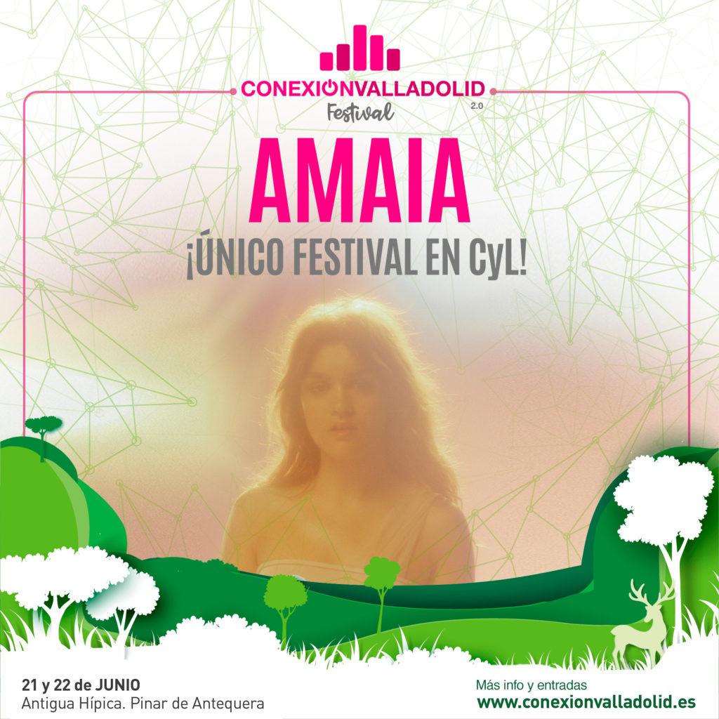 Amaia Romero en Conexión Valladolid Festival