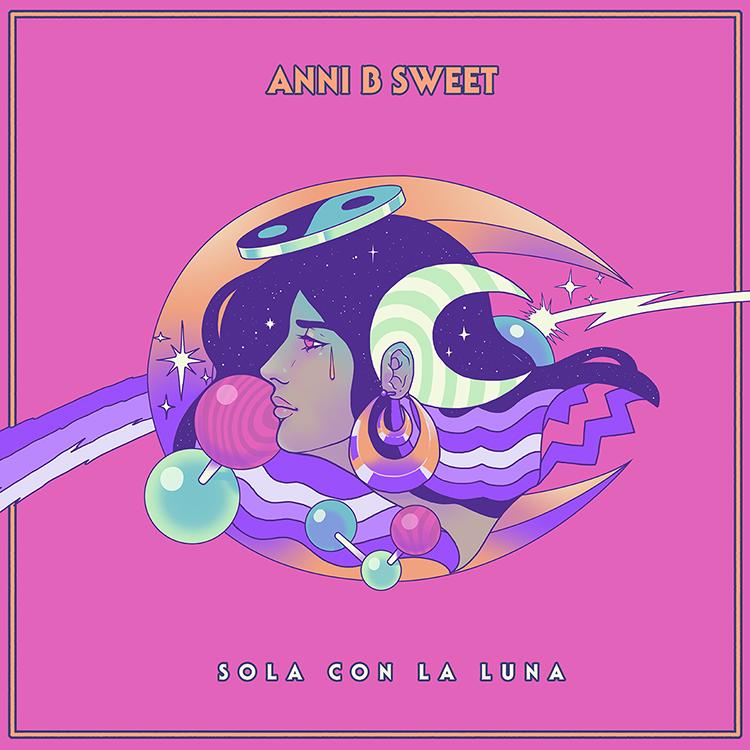 Portada Sola con la Luna - Anni B Sweet