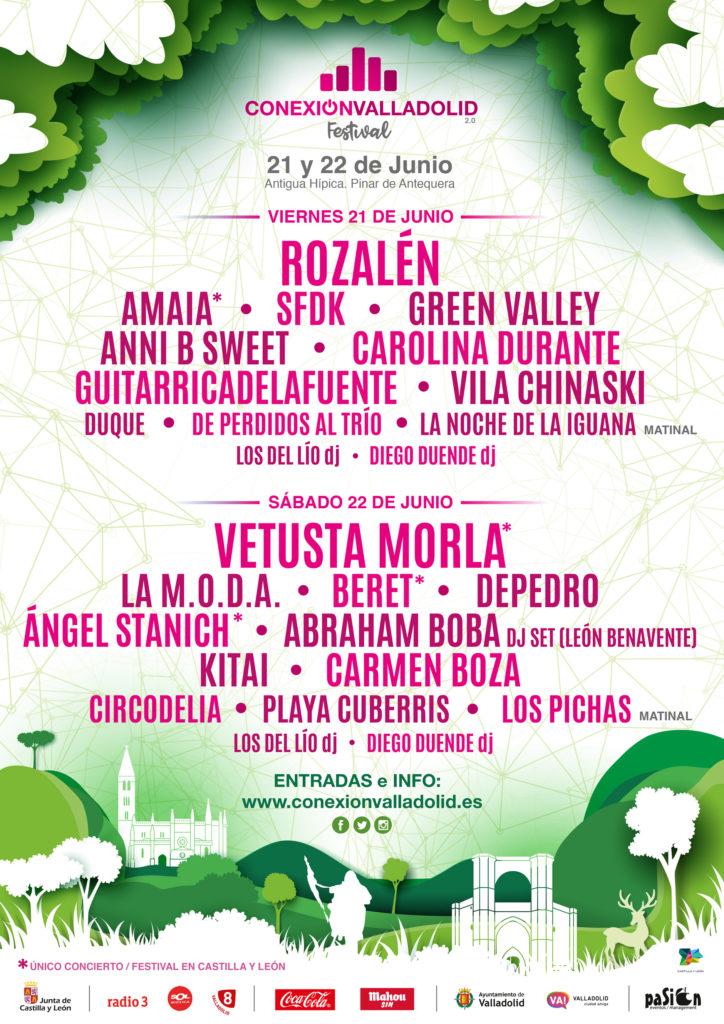 Cartel Conexión Valladolid Festival