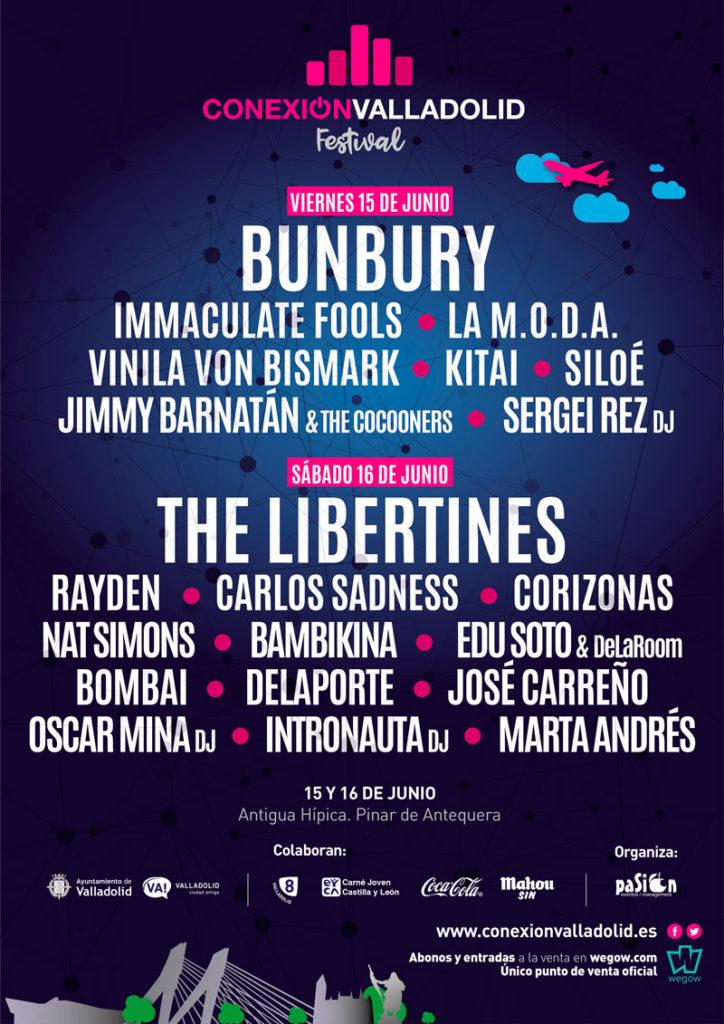 Cartel Conexión Valladolid Festival 2018
