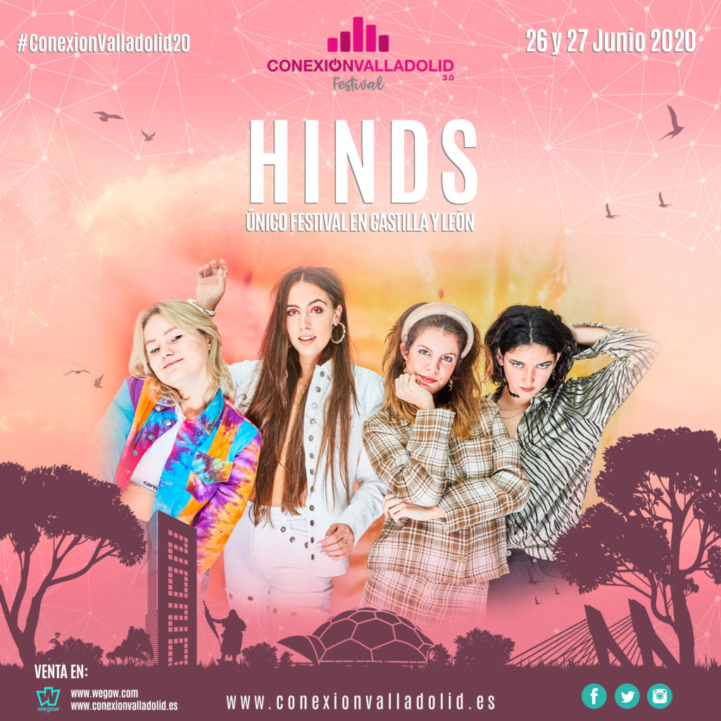 Hinds - Conexión Valladolid Festival 2020