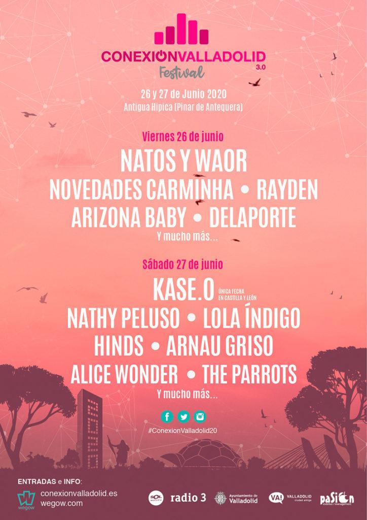 Cartel Conexión Valladolid Festival 2020