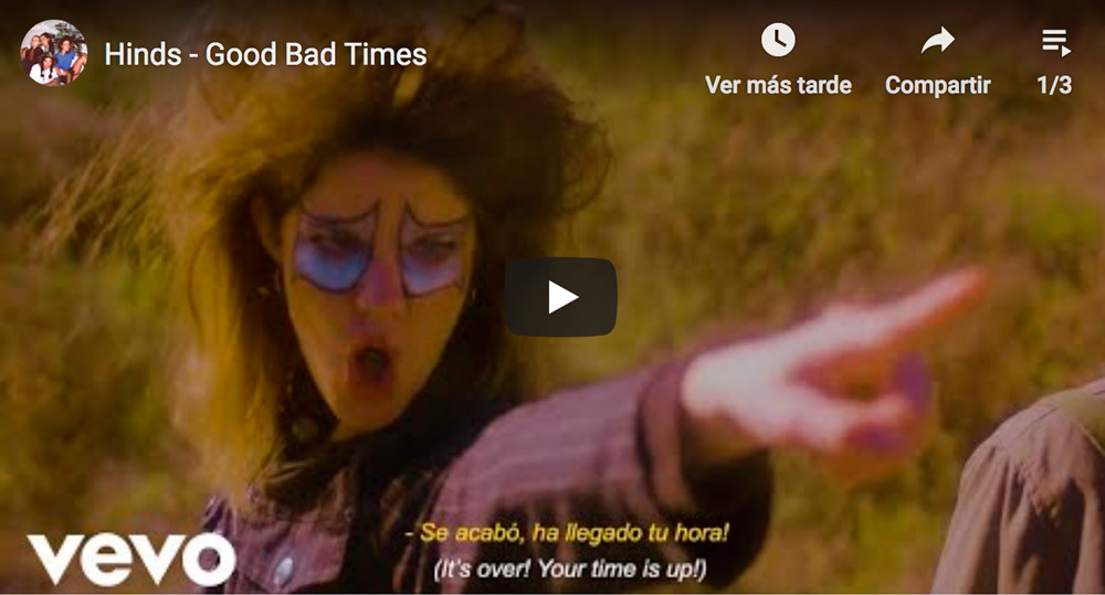 Hinds - Good Bad Times