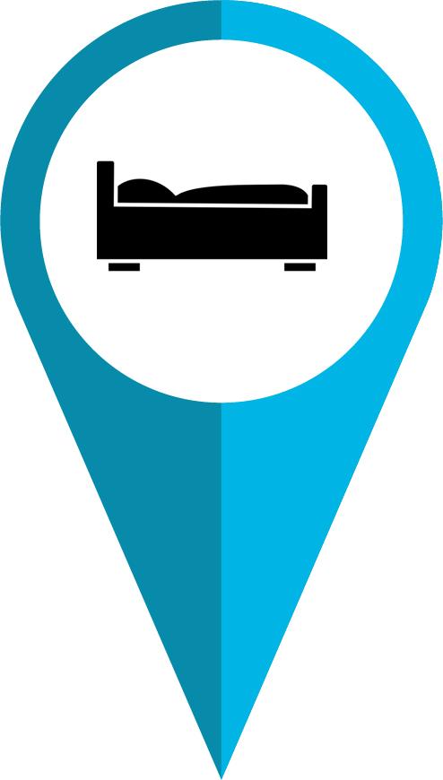 ¿Dónde dormir?