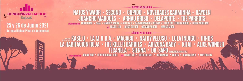 Cartel Conexión Valladolid Festival 2021